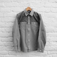 Carhartt WIP Harrison Shirt - Dark Grey