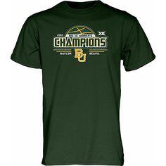 Baylor Bears Women's Basketball 2015 Big 12 Champions T-Shirt