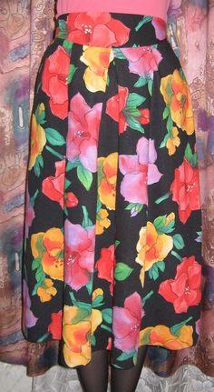 Винтажная женская юбка. от VIRTTARHAR на Etsy