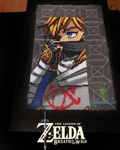 zomberic_art Link in Sheikah armor