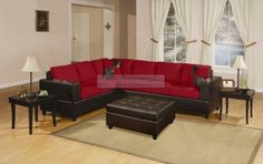 MODERN FURNITURE Sectional Sofa Couch Set F7631 F7635 | eBay $689
