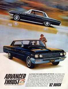 """""""Advanced Thrust"""" for the '62 Buick LeSabre."""