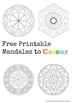 Good Printable Coloring Pages For Older Kids 44 printable mandalas to colour