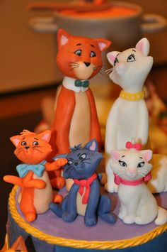 #Disney, Aristocats #cake #topper