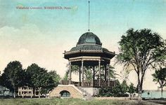 Bandstand on Wakefield Common by Lucius Beebe Memorial Library, via Flickr