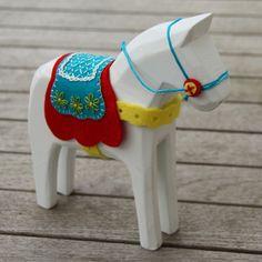 A handmade Dala...??  So cute!!!