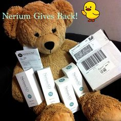 More Nerium Gives Back!  http://realprogress.arealbreakthrough.com