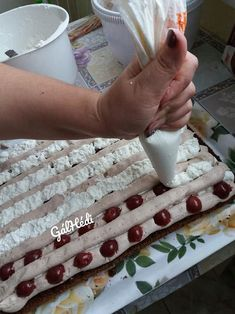 Hungarian Desserts, Hungarian Recipes, Sandwiches, Cheesecake, Food And Drink, Herbs, Sweets, Cooking, Diet