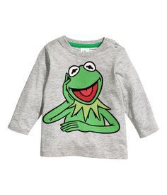 Kermit Long-sleeved T-shirt | H&M