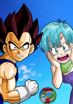 They heard Trunks and Goten are kissing?! Lol j/k