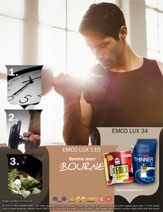 Kawan EMCO, apapun yang ingin kamu lakukan dalam latihan yang paling penting lakukan pula dengan gembira tanpa beban, maka tubuh akan makin sehat. Mari kita dukung latihan kebugaran dengan tekun dan kita pancarkan kegembiraan kita dengan pilihan warna EMCO LUX 110 dan EMCO LUX 34 pada palet EMCO. Untuk artikel menarik lainnya, yuk cek di http://matarampaint.com/news.php