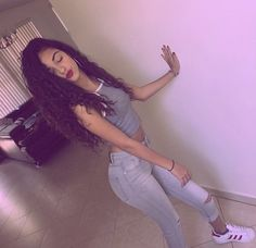 Perfection like fr on point girls Malu Trevejo Outfits, Dope Outfits, Stylish Outfits, Fashion Outfits, School Outfits, Fashion Ideas, Smile Tumblr, Booty Goals, Poses