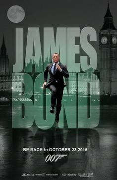 James Bond will be back. Artwork by jackiejr  #jamesbond #007