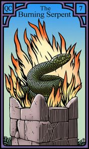 The Burning Serpent for the Burning Serpent Oracle, Robert M Place