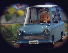 Trabant in children's cartoon