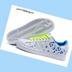 brand new 78b3b 632fc White Royalblue Neon Green - Adidas Originals Superstar II Fantasy Women  Trainers,Hot style of trainers have good quality,What are you waiting