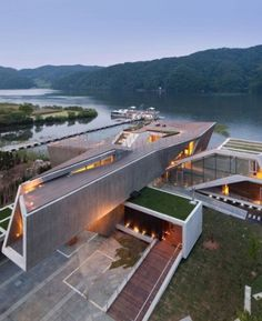 Beautiful Guest House Rivendell by IDMM Architects, South Korea