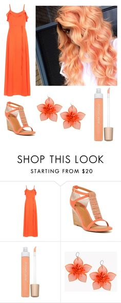 """""""All orange everything"""" by wieldy on Polyvore featuring New Look, Seychelles, Jane Iredale and Dsquared2"""