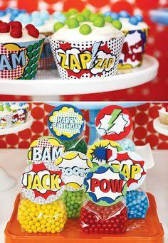superhero-vintage-bright-cupcake-liners