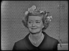 Bette Davis on What's My Line? What's My Line, Celebrity Names, Bette Davis, Arts And Entertainment, Best Actor, Art History, Actors & Actresses, Geek Stuff, This Or That Questions