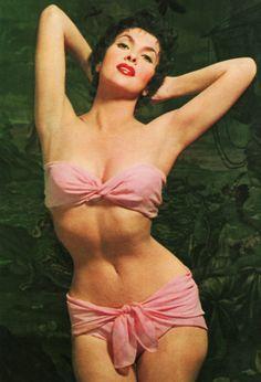 Gina Lollobrigida, 1950's.