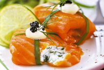 Smoked salmon parcels – Recipes – Slimming World