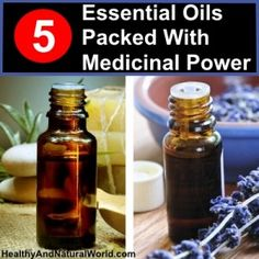 5 Essential Oils Packed With Medicinal Power