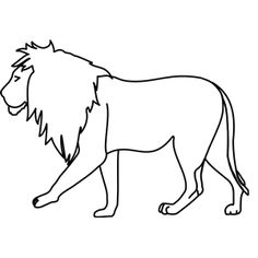 Free Horse Clip Art Image Outline Drawing Of A