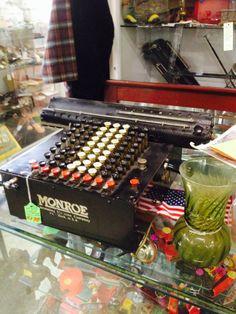 Antique Monroe Calculating Machine / Adding Machine / Calculator. Gum's Mall of Antiques & Collectibles Hawaiian Gardens, CA