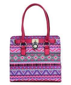 Look at this Fuchsia Emilee Tote on #zulily today!