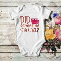 Personalized baby boy bodysuit in white or black color. Add the baby's or dad's name or both. With lap shoulders and bottom snaps. Available in 4 sizes. I Love Mommy, I Love My Brother, Daddys Little, Little Babies, Custom Baby Onesies, Baby Hands, Personalized Baby Gifts, Our Baby, Baby Boy