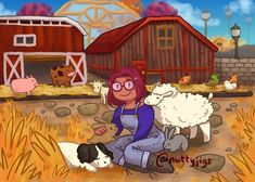 Stardew Farms, Stardew Valley Tips, Stardew Valley Fanart, Farm Games, Im Weak, Character Aesthetic, Live Wallpapers, Farm Life, Videogames