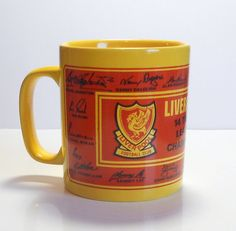 LFC 14 Times League Champions Mug by LFCcollectables on Etsy