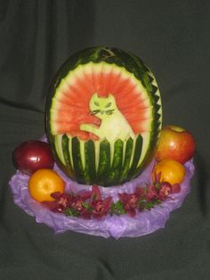 647-271-7971 Fruits And Veggies, Watermelon, Lovers, Animals, Food, Fiestas, Fruits And Vegetables, Animales, Animaux