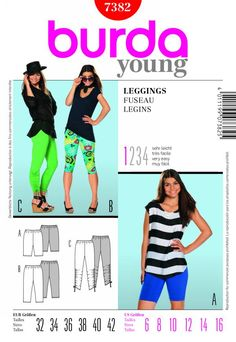 Burda LEGGINGS 7382