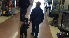 Eight-year-old Aiden Heath has spent a little over four years collecting loose change with a goal in mind. And that dedication paid off this week when he finally came face-to-snout with his very own service dog, Angel.