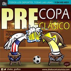 """#ElCartonDelDia para @PurakuraWeb""""PRE COPA PRE CLÁSICO"""" @ClubAmerica@Chivas#AmericaVsChivas #ClasicoNacional"""