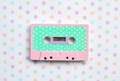 Polka dot tape casette x