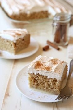 The familiar snickerdoodle flavor you love, in delicious poke-cake form! Made in a snap with pantry staples like Betty's yellow cake mix, sweetened condensed milk, warming spices and whipped topping, this rich cake is nothing short of divine!