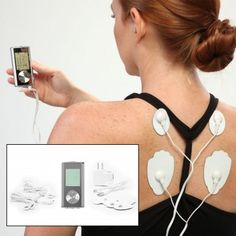 TENS Electronic Pulse Massager Muscle Stimulator-Relieve Pain!