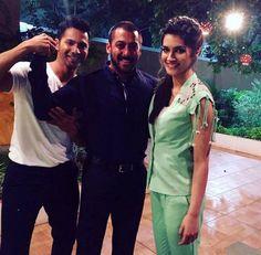 Varun Dhawan and Kriti Sanon seen on 'Bigg Boss 9' with Salman Khan. #Bollywood #Fashion #Style #Beauty #Hot #Sexy #BiggBoss9 #BB9 #Handsome #Instagram