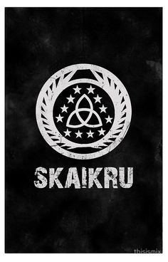 The 100 Skaikru Symbol [Black]