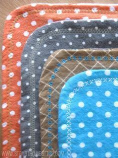 Super cute receiving blankets   Easy to follow directions. Love how it they come out and will be making more :D
