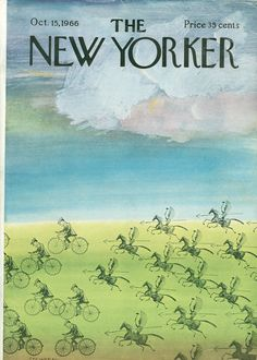 The New Yorker - Saturday, October 1966 - Issue # 2174 - Vol. 42 - N° 34 - Cover by Saul Steinberg The New Yorker, New Yorker Covers, Saul Steinberg, October 15, Magazine Art, Magazine Covers, Art Institute Of Chicago, Art For Sale, Cover Art