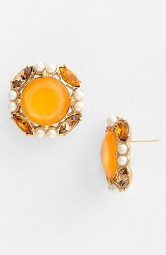 kate spade new york 'belle fleur' stud earrings available at #Nordstrom