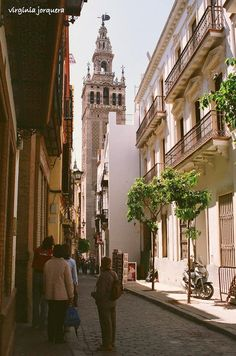 Seville- can't wait to walk in this beautiful place