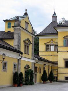 Hellbrunn Palace on the outskirts of Salzburg