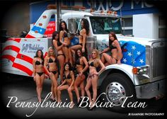 2011 PA Bikini Team Calendar Shoot