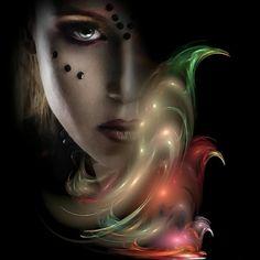 Die Gedanken sind frei - BELLA DONNA digital art - BELLA DONNA digital art digital photo manipulation