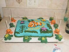 Nemo party cake